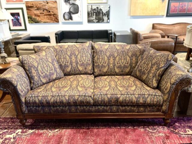 Ethan Allen Sofa with Down & Feather Fill