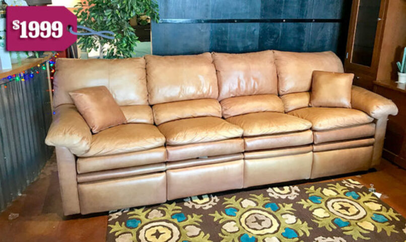 Creative Leather Double Recliner