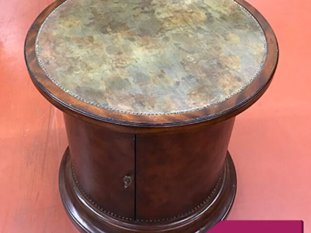 Ernest Hemmingway Collection Drum Table
