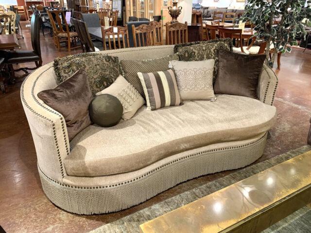 Elegant Curved Sofa