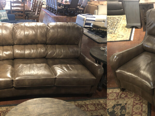 Flexsteel Sofa with Matching Chair