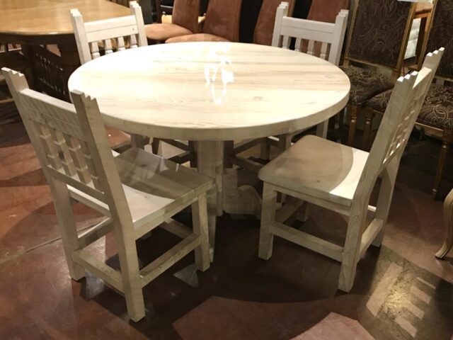 Morewood & Yager Table with 4 Chairs