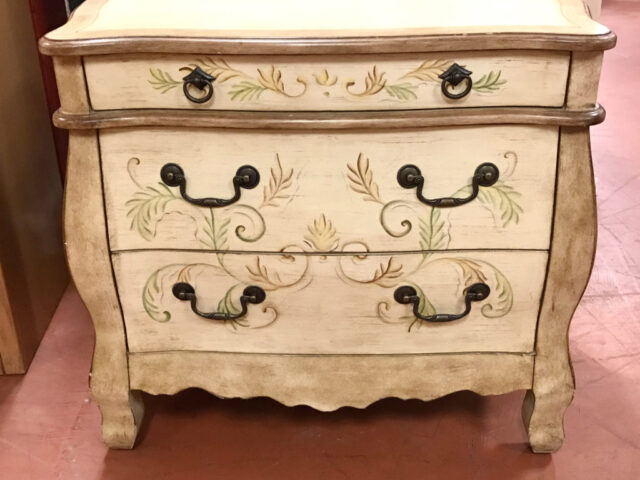 3 Drawer Painted Chest