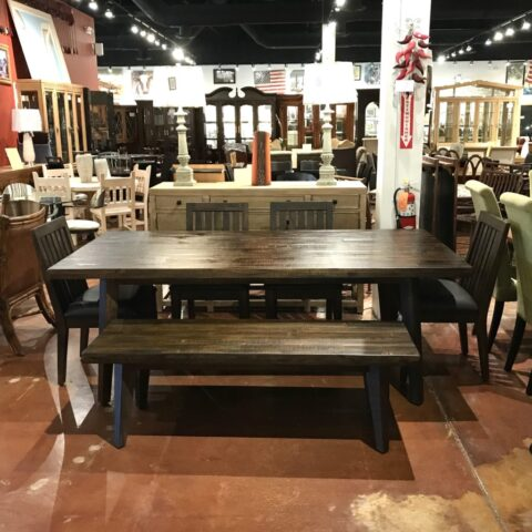 Sunny Designs Table with 4 Chairs and Bench