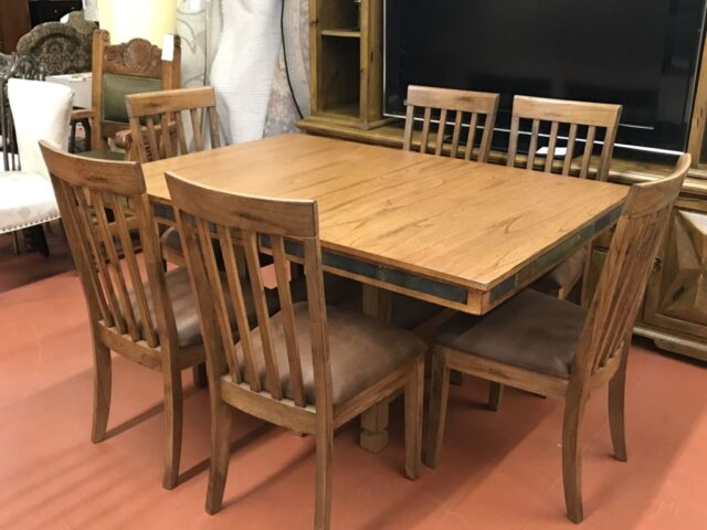 Sedona Table with 6 Chairs