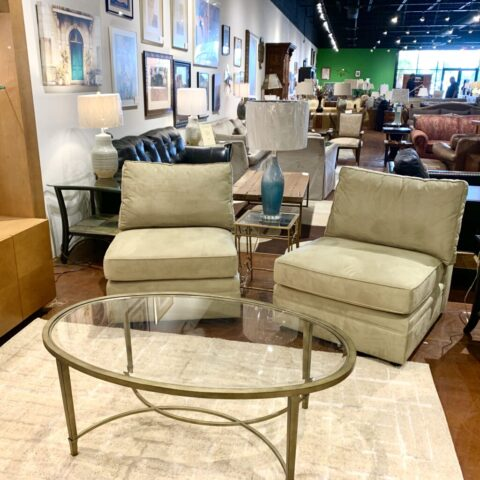 Pair of Pottery Barn Chairs