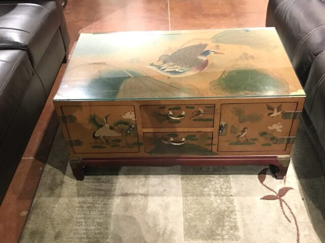 Oriental Chest Coffee Table