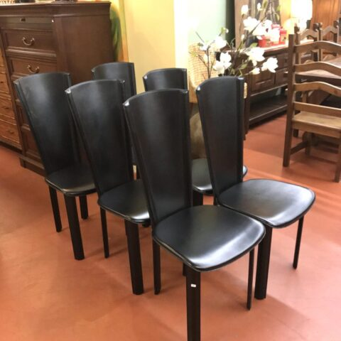 Set of 6 Modern Chairs Dining Chairs