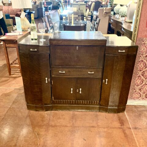 English Art Deco Pop Top Bar