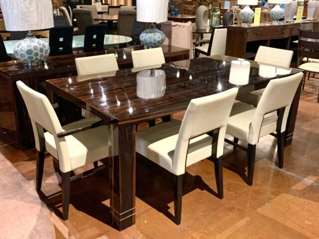 Costantini Pietro Table with 6 Chairs & Buffet