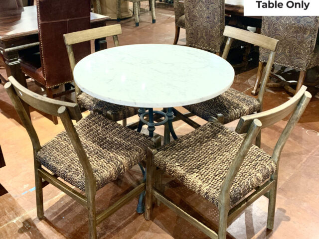 Carte & Barrel Marble Table Only