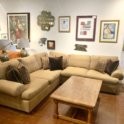 Hickory White 2 Piece Sectional