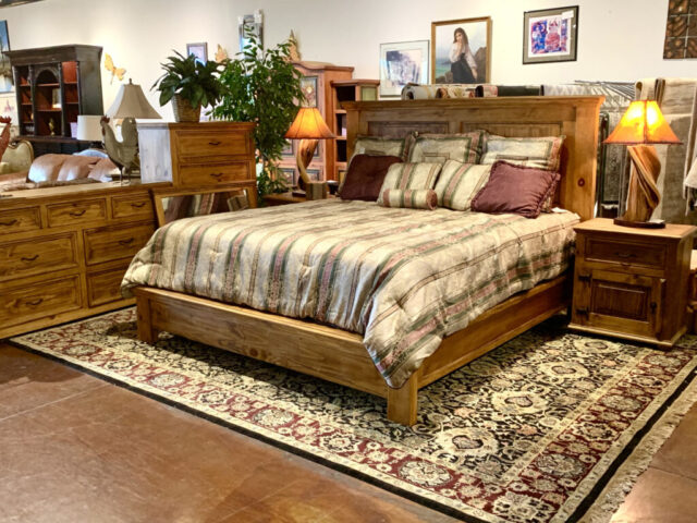 Rustic King 6 Piece Bed Set