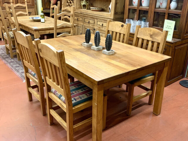 Rustic Table with 4 Chairs