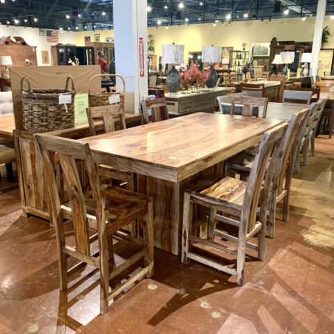 Urban Styles Counter Table with 6 Chairs