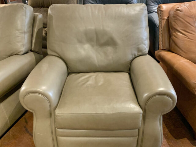 American Leather Rocker Recliner