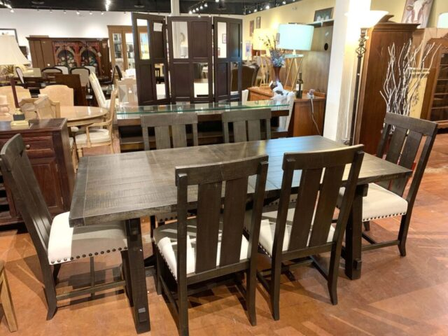 Vivian Extension Table with 6 Chairs